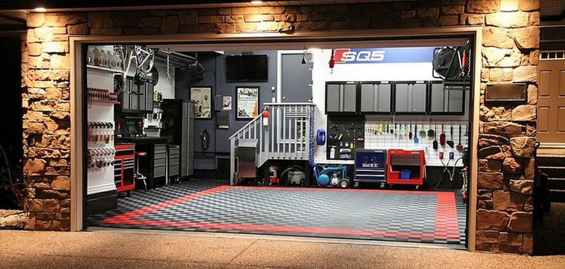 aranżacja garażu