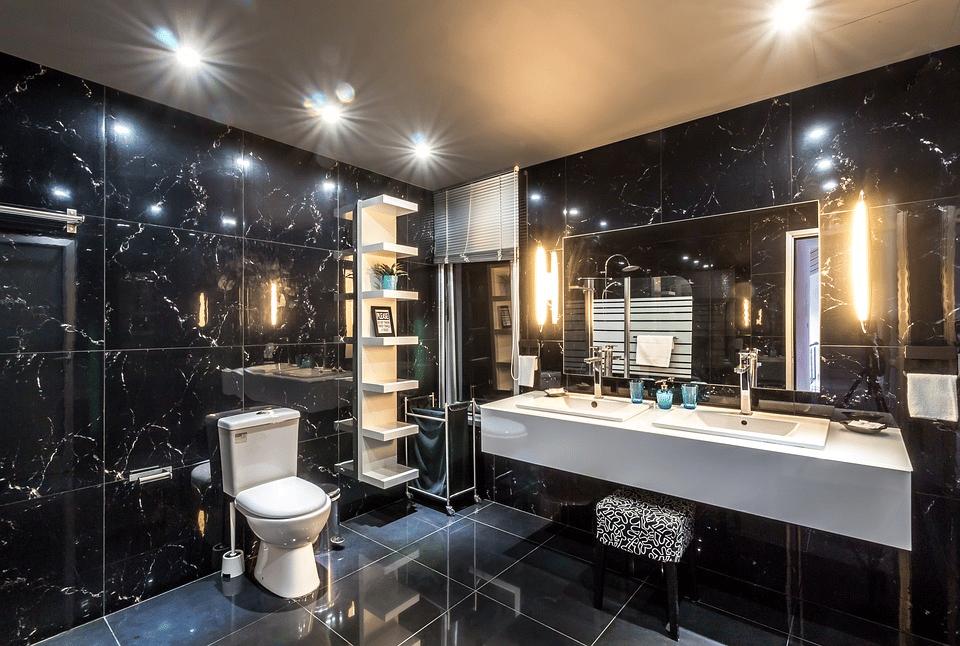 Jak dobierać oświetlenie do łazienki? 1