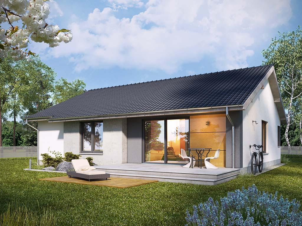 Gotowe projekty domów – praktyka i teoria wygodnych rozwiązań 1
