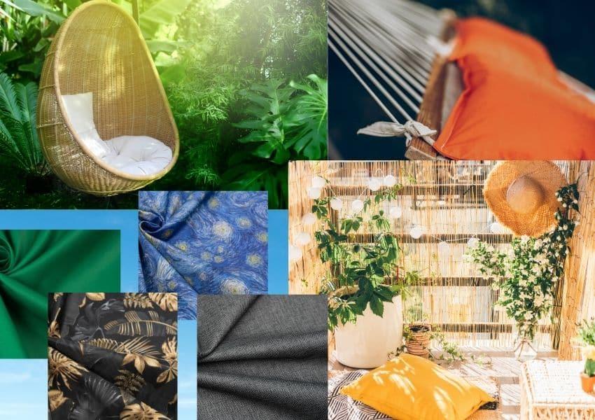 Najpopularniejsze kolory tkanin ogrodowych 1