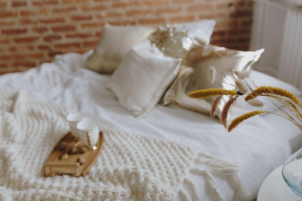 Elegancka pościel w sypialni 1