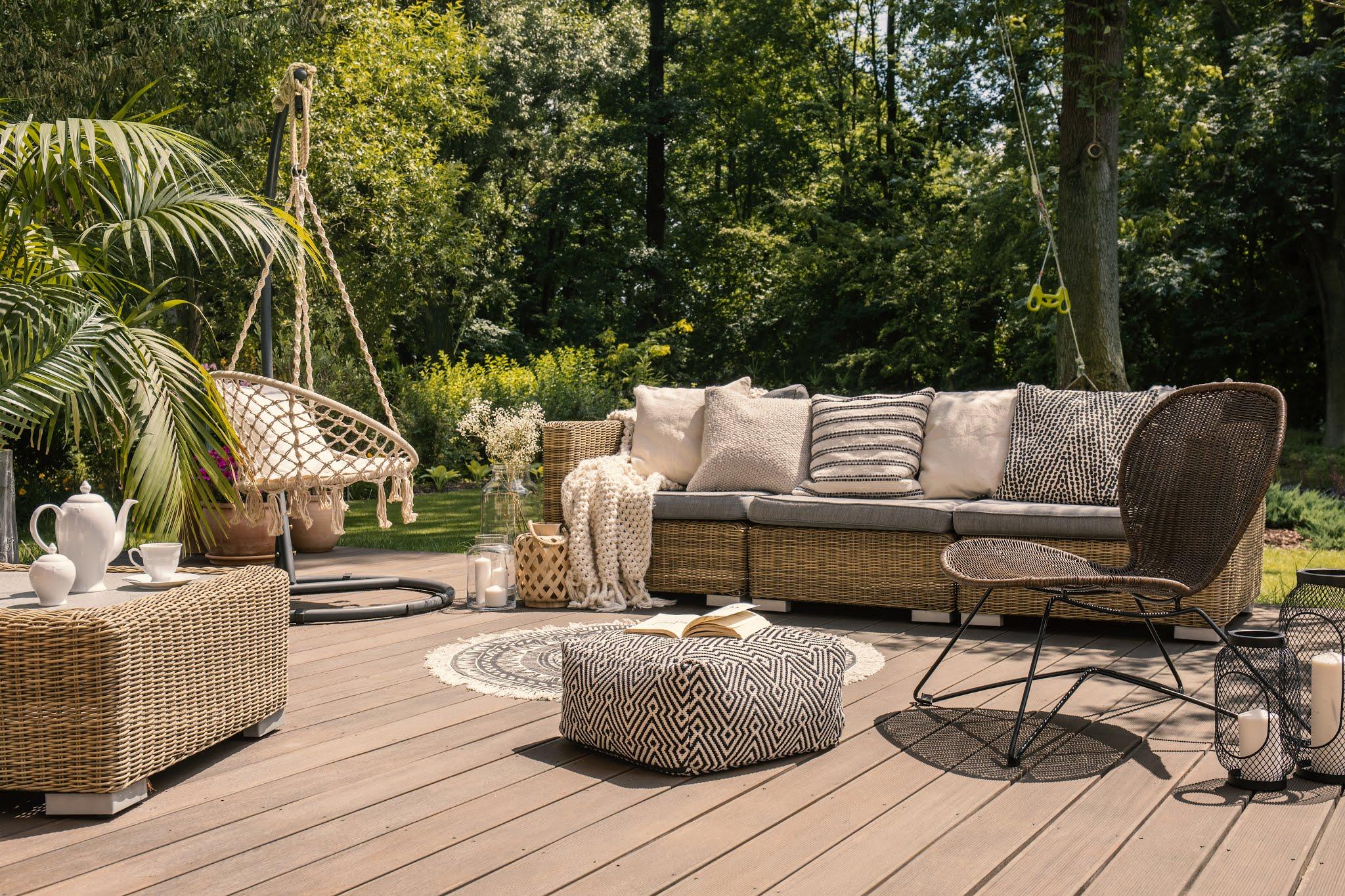 Jak zorganizować na tarasie lub w ogrodzie swoją własną oazę do wypoczynku? 1