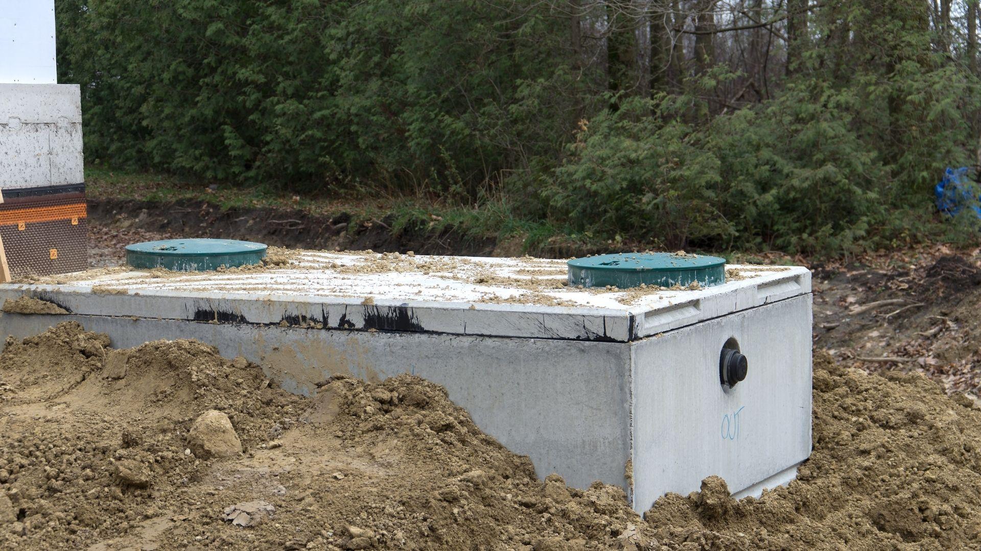 Szambo betonowe 12 m3 - czy to dobry wybór dla domu? 1